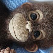 Куклы и игрушки ручной работы. Ярмарка Мастеров - ручная работа Обезьянка Марти. Handmade.
