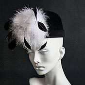 Аксессуары ручной работы. Ярмарка Мастеров - ручная работа Фетровая шляпка Breakfast at Tiffany`s. Handmade.