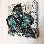 Картины и панно ручной работы. Ярмарка Мастеров - ручная работа Черная орхидея. Handmade.