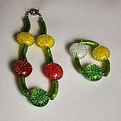 Украшения ручной работы. Ярмарка Мастеров - ручная работа Большие хризантемы. Handmade.