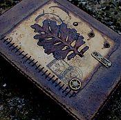 Канцелярские товары ручной работы. Ярмарка Мастеров - ручная работа Блокноты с натуральными растениями. Handmade.