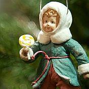 Куклы и игрушки handmade. Livemaster - original item Christmas toys, Cotton toys series