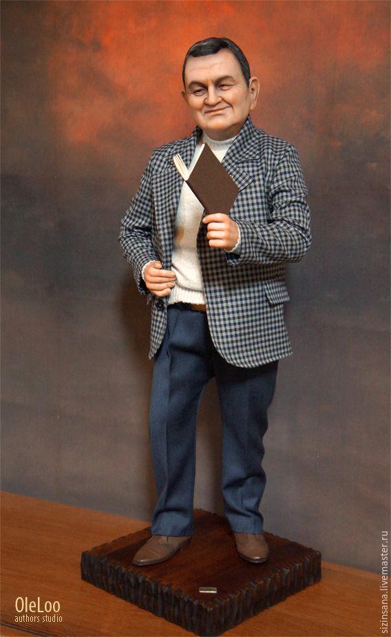 шуточных портретная кукла на заказ по фотографии стоит