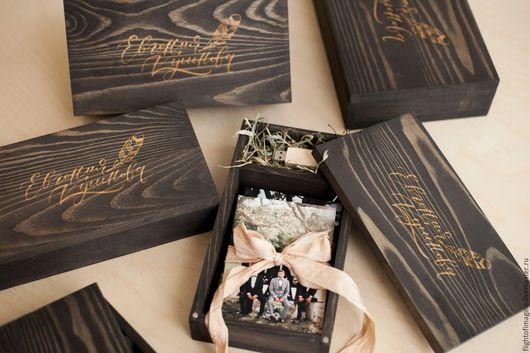flight of imaginations. Деревянная упаковка для фотографий. Заказать упаковку для флешки. Коробочка для фото.