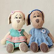 Stuffed Toys handmade. Livemaster - original item Adorable toy dog large. Handmade.