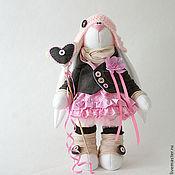 Куклы и игрушки ручной работы. Ярмарка Мастеров - ручная работа Зайка с сердечком. Handmade.