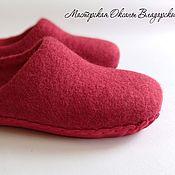 Slippers handmade. Livemaster - original item Women`s felted Slippers