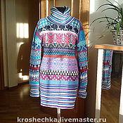 Одежда handmade. Livemaster - original item Woolen knitted tunic