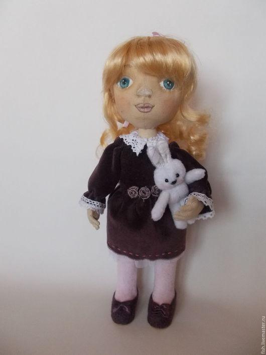 Коллекционные куклы ручной работы. Ярмарка Мастеров - ручная работа. Купить Кукла текстильная. Handmade. Комбинированный, текстильная кукла, бязь