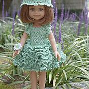 Куклы и игрушки ручной работы. Ярмарка Мастеров - ручная работа Зеленый комплект для кукол Paola Reina. Handmade.