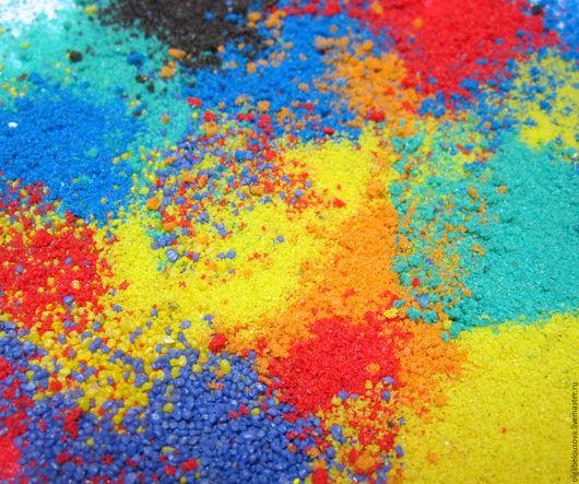 Свадебные аксессуары ручной работы. Ярмарка Мастеров - ручная работа. Купить Песочная церемония; Цветной песок для песочной церемонии. Handmade.