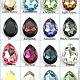 Подлинные кристаллы Сваровски Pear 4327 капли 30x20мм S43273020, , Тель-Авив, Фото №1