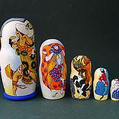 Русский стиль handmade. Livemaster - original item Matryoshka Bakst. Handmade.