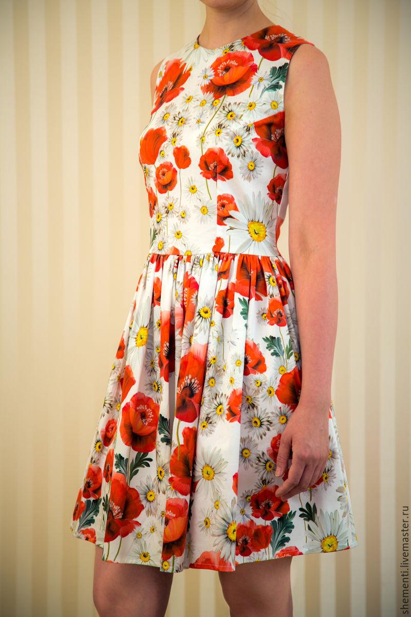 Платье поло шьем из хлопка
