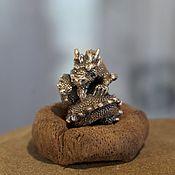 Материалы для творчества handmade. Livemaster - original item Smaug charm. Handmade.