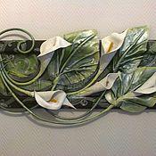 Картины и панно ручной работы. Ярмарка Мастеров - ручная работа Цветы КАЛЛЫ. Handmade.