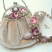 Украшения ручной работы. Ярмарка Мастеров - ручная работа Венок из роз. Handmade.