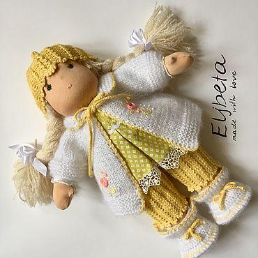 Куклы и игрушки ручной работы. Ярмарка Мастеров - ручная работа Саша, Вальдорфская кукла. Handmade.