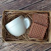 Косметика ручной работы. Ярмарка Мастеров - ручная работа Набор чайный с печеньем. Handmade.