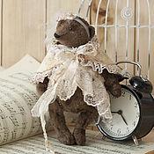 Куклы и игрушки ручной работы. Ярмарка Мастеров - ручная работа Мишка девочка, винтаж. Handmade.
