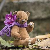 Куклы и игрушки ручной работы. Ярмарка Мастеров - ручная работа Мишка тедди Цветочек.  Мини мишка тедди. 9см. Handmade.