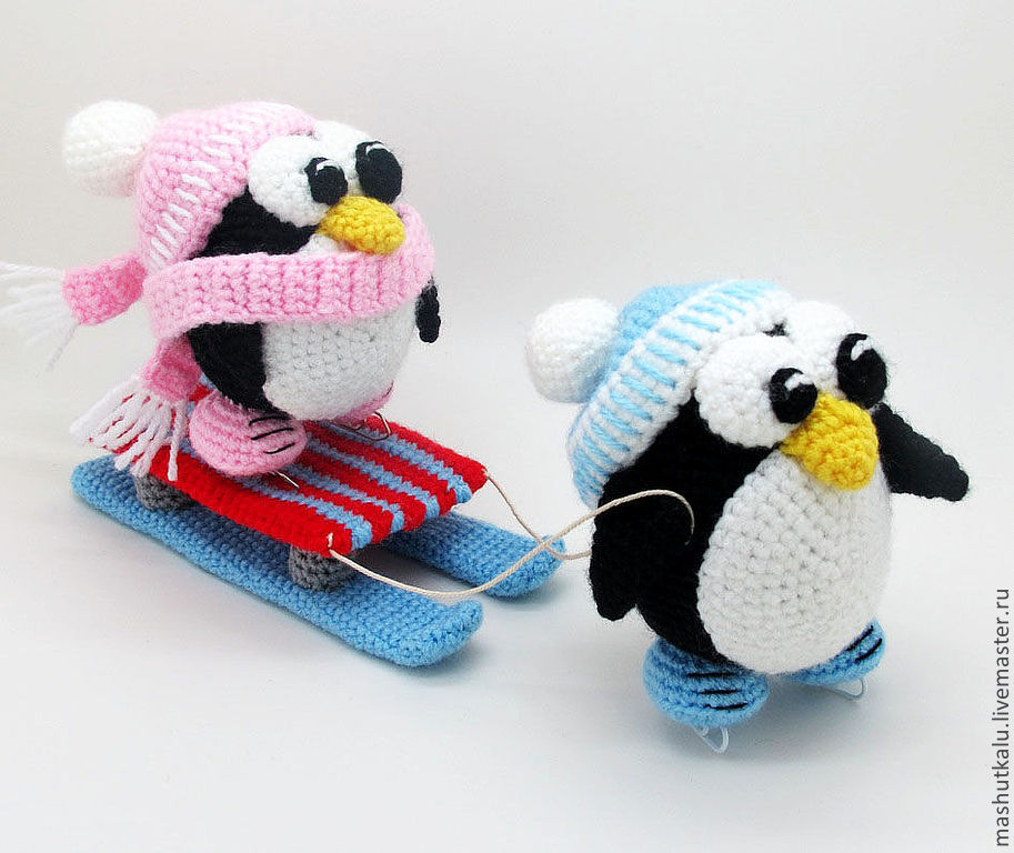 Пингвин из резинок мастер класс