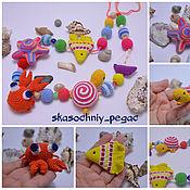 """Одежда ручной работы. Ярмарка Мастеров - ручная работа Слингобусы морские с игрушками """"Морские обитатели"""". Handmade."""