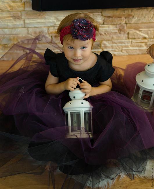Одежда для девочек, ручной работы. Ярмарка Мастеров - ручная работа. Купить детское платье. Handmade. Черный, платье, платье для девочки