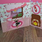 Куклы и игрушки ручной работы. Ярмарка Мастеров - ручная работа Книжка-домик для куклы.. Handmade.