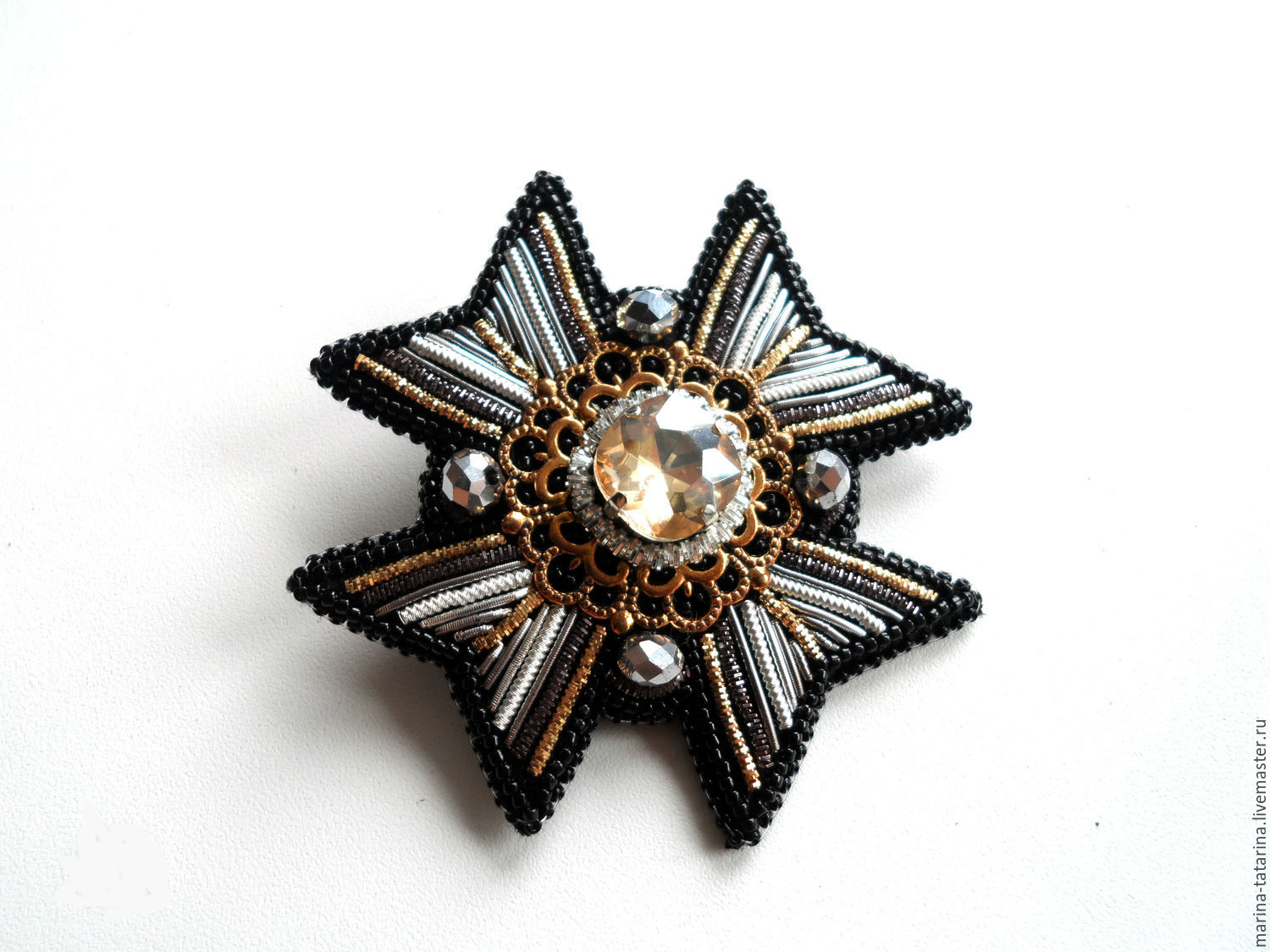 'Order of Malta' brooch, Brooches, Eniseisk,  Фото №1