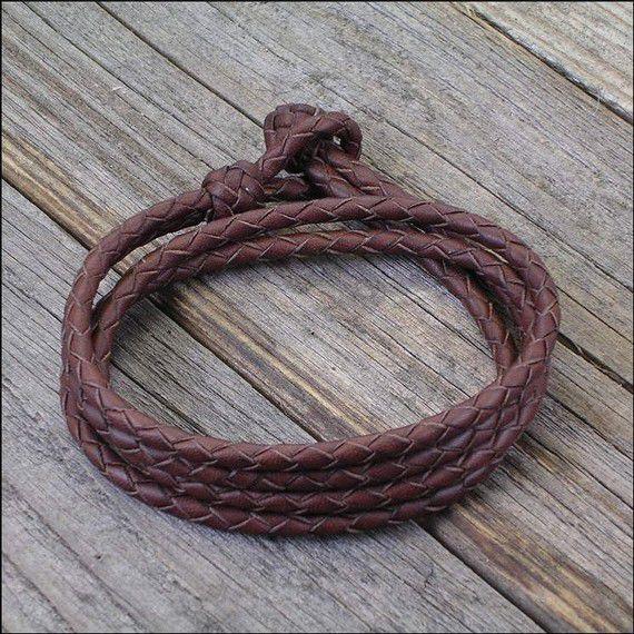 Плетение кожаных браслетов своими руками
