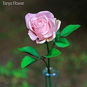 Цветы и флористика ручной работы. Ярмарка Мастеров - ручная работа Бутонная роза ручной работы. Handmade.
