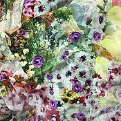 Ткани ручной работы. Ярмарка Мастеров - ручная работа Шелк натуральный Италия. Handmade.