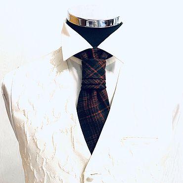 Аксессуары ручной работы. Ярмарка Мастеров - ручная работа Пластрон-галстук Wool. Handmade.