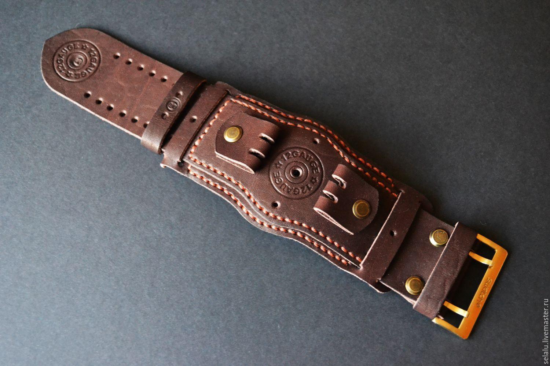 Ремень для часов из кожи