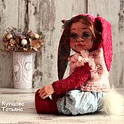 Куклы и игрушки ручной работы. Ярмарка Мастеров - ручная работа Заинька Поля. Handmade.