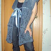 Одежда handmade. Livemaster - original item vest. Handmade.