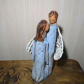 """Статуэтки ручной работы. Ярмарка Мастеров - ручная работа Ангелы """"счастливые"""". Handmade."""