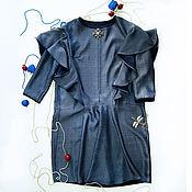 Одежда ручной работы. Ярмарка Мастеров - ручная работа Платье коктельное Хамелеон. Handmade.