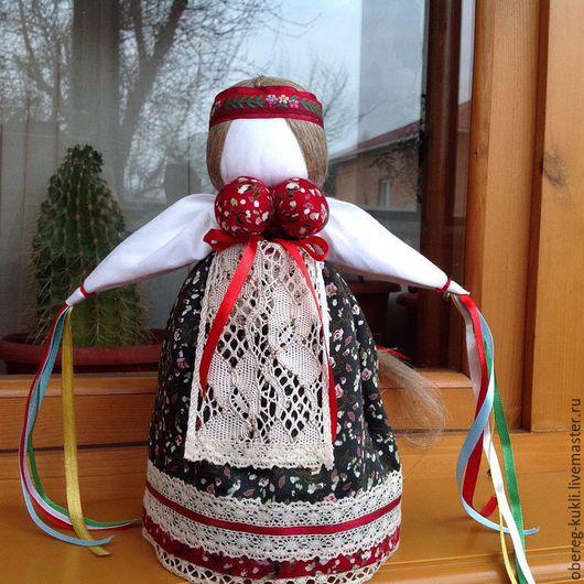"""Народные куклы ручной работы. Ярмарка Мастеров - ручная работа. Купить """"Манилка""""по мотивам Народной куклы. Handmade. Обережная кукла"""