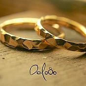 """Золотые обручальные кольца """"Всем сердцем"""""""