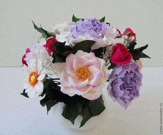 Интерьерные композиции ручной работы. Ярмарка Мастеров - ручная работа. Купить Дачный Week-end. Handmade. Розы, интерьерная композиция