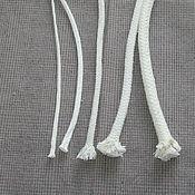 Материалы для творчества ручной работы. Ярмарка Мастеров - ручная работа Хлопковый плененый  шнур  3-10 мм. Handmade.