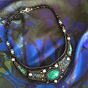 Украшения handmade. Livemaster - original item Necklace necklet with chrysocolla. Handmade.