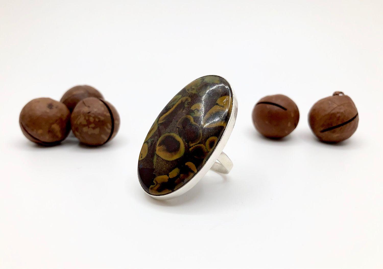 Ring with Jasper b, Rings, Feodosia,  Фото №1