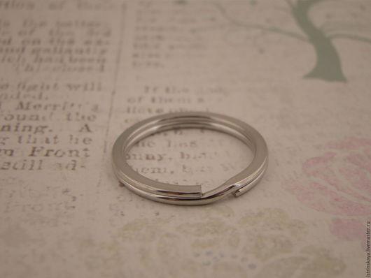 Шитье ручной работы. Ярмарка Мастеров - ручная работа. Купить Кольцо для ключей.. Handmade. Серебряный, кольцо для ключей, фурнитура для сумок