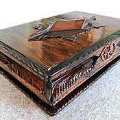 Для дома и интерьера handmade. Livemaster - original item Box, author`s handwork. Handmade.