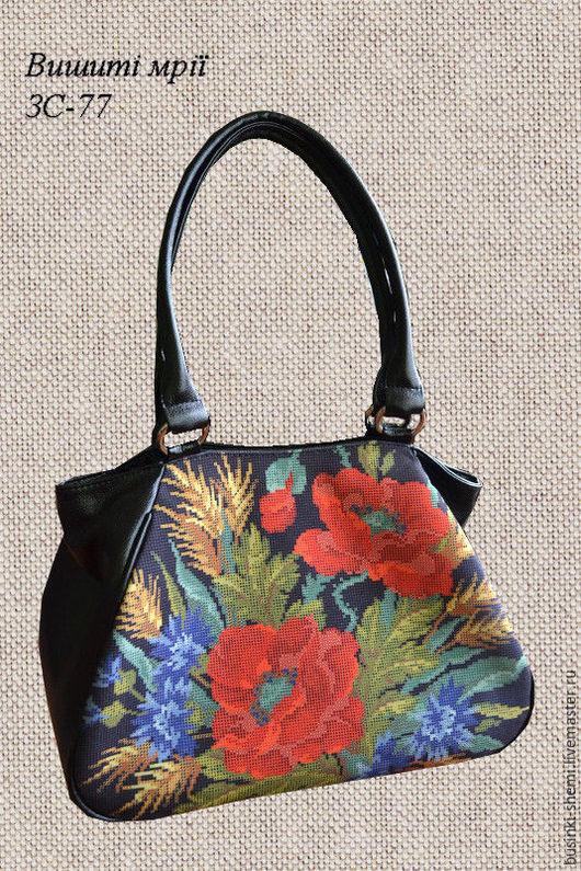 Женские сумки ручной работы. Ярмарка Мастеров - ручная работа. Купить сумка под вышивку бисером. Handmade. Комбинированный