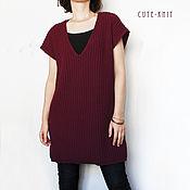 Одежда handmade. Livemaster - original item Sleeveless knit dress. Handmade.