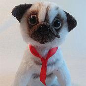 Для дома и интерьера handmade. Livemaster - original item Pug soft toy. Handmade.